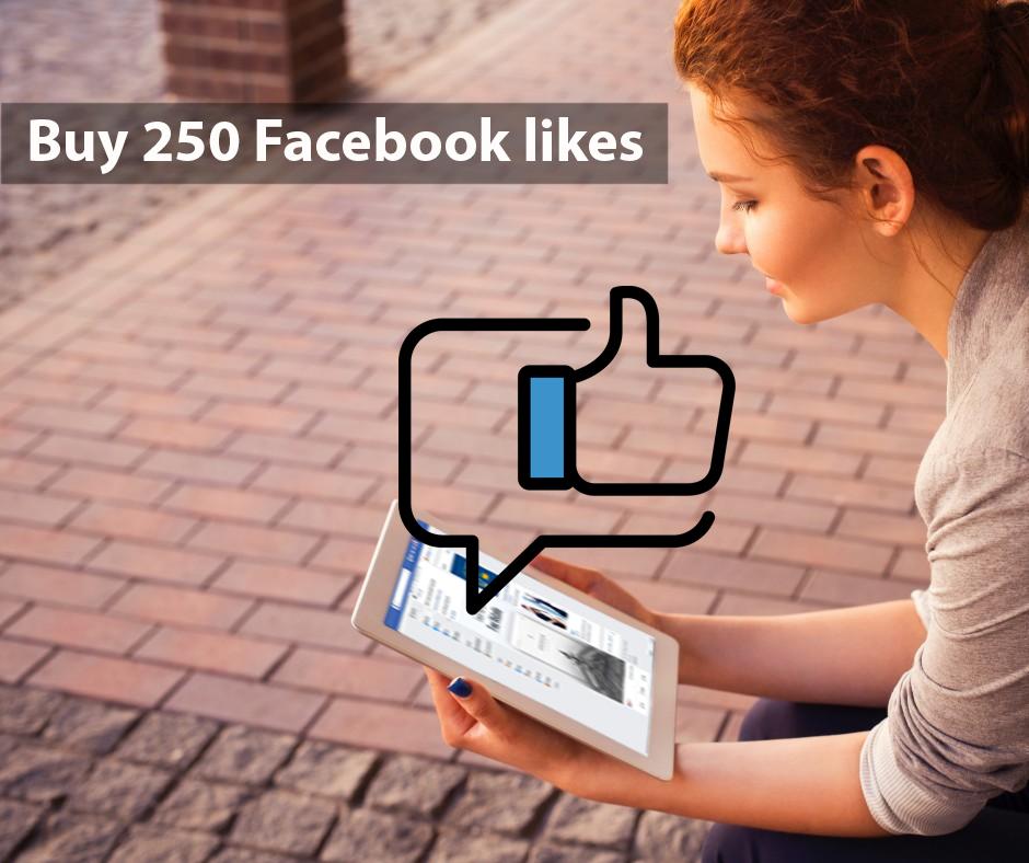 Buy 250 Facebook Likes