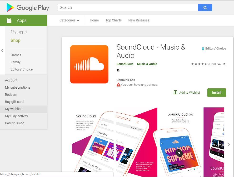 SoundCloud Downloader on Chrome