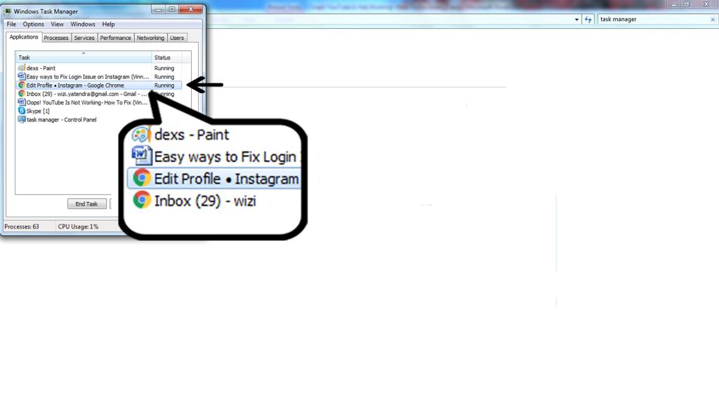 select google chrome