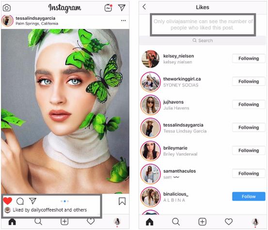 How Do The Hidden Likes Work On Instagram